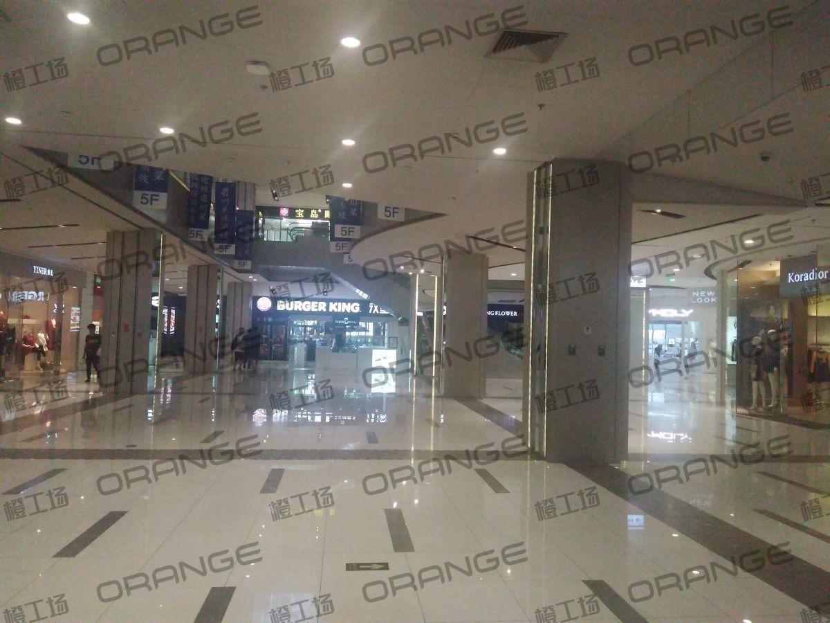 北京远洋未来广场-室内一楼东侧中庭(有承重柱)15