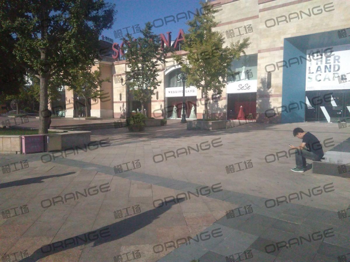 北京蓝色港湾-室外西门广场二2