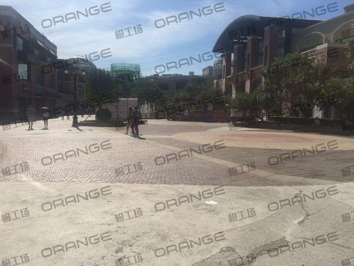 北京蓝色港湾-室外B1喷泉东侧广场24
