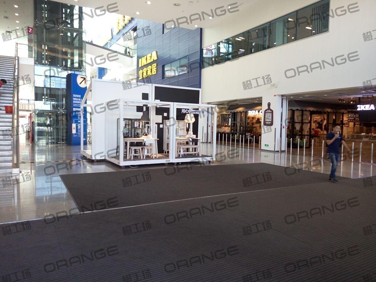 北京荟聚购物中心-室内一楼宜家北门门内大厅112