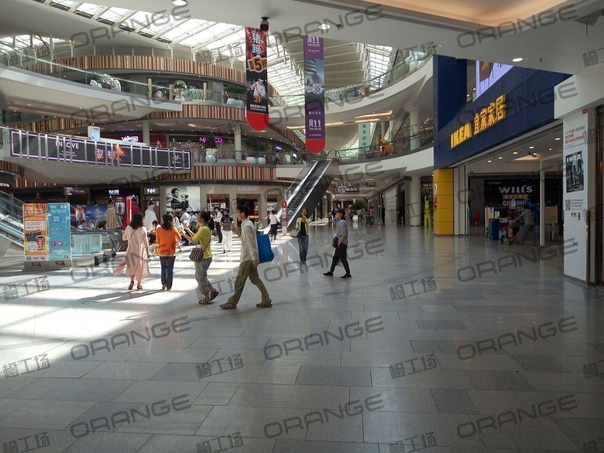 北京荟聚购物中心-室内一楼宜家北门门内大厅213