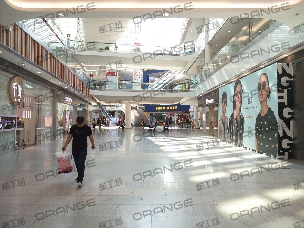 北京荟聚购物中心-室内一楼北门南扶梯东(两块)19