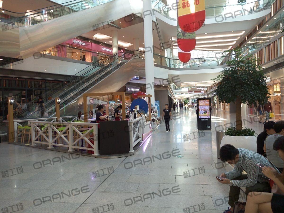 北京荟聚购物中心-室内一楼北侧nici门前过道20