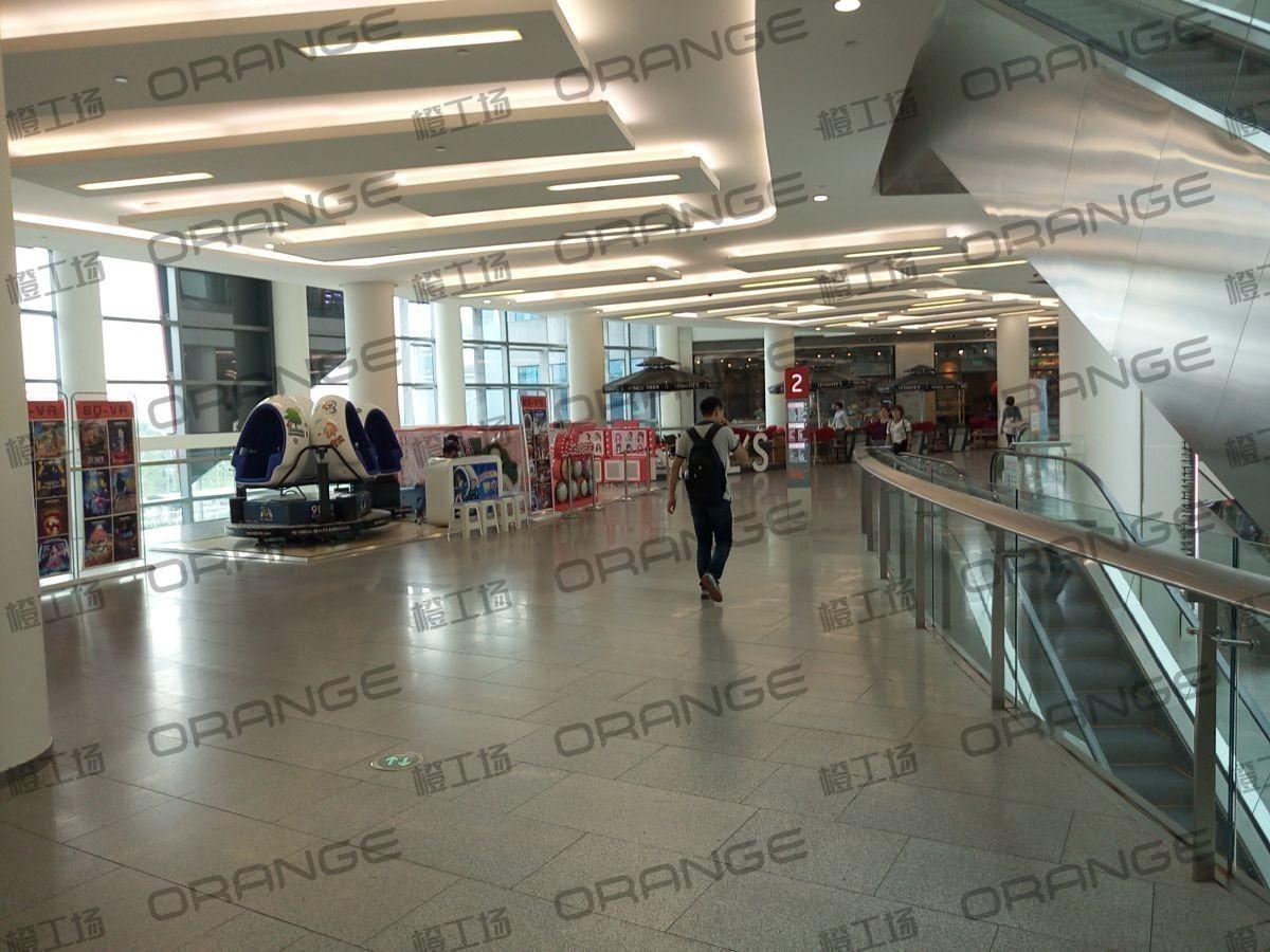 荟聚购物中心-室内二三楼东侧led屏东(两块)45