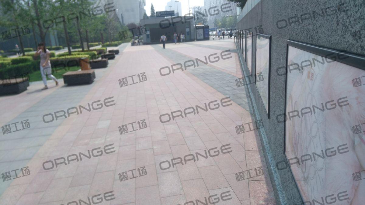 北京财富购物中心-室外东门最南侧地铁金台夕照A口前方三角区域14
