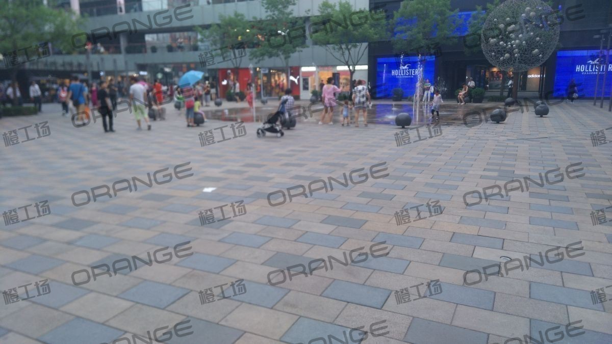 北京三里屯太古里(南区)-室外太里古喷泉广场9