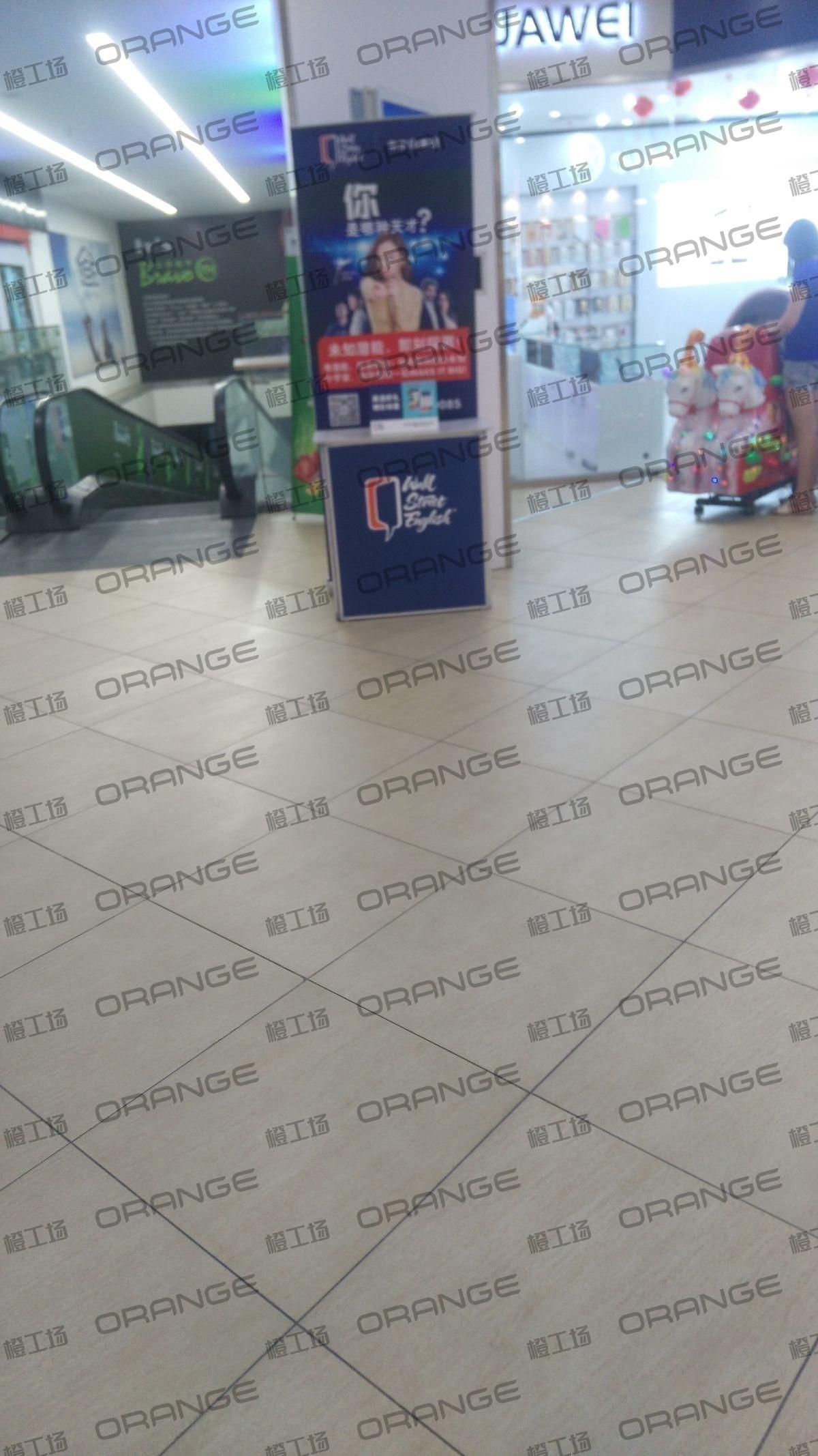 北京爱琴海购物公园-室内B1永辉超市上扶梯口33