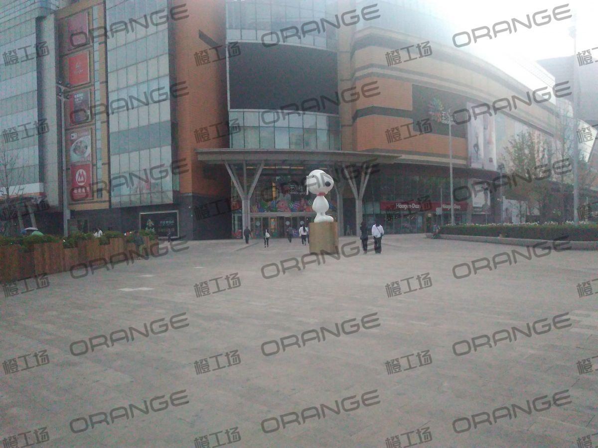 北京五彩城购物中心-室外东区东北门东北侧广场18