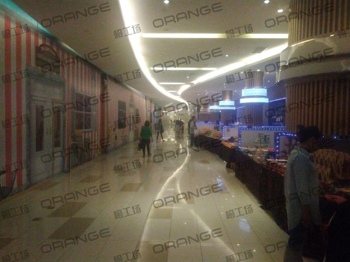 北京五彩城购物中心-室内三楼西侧东西区走廊26