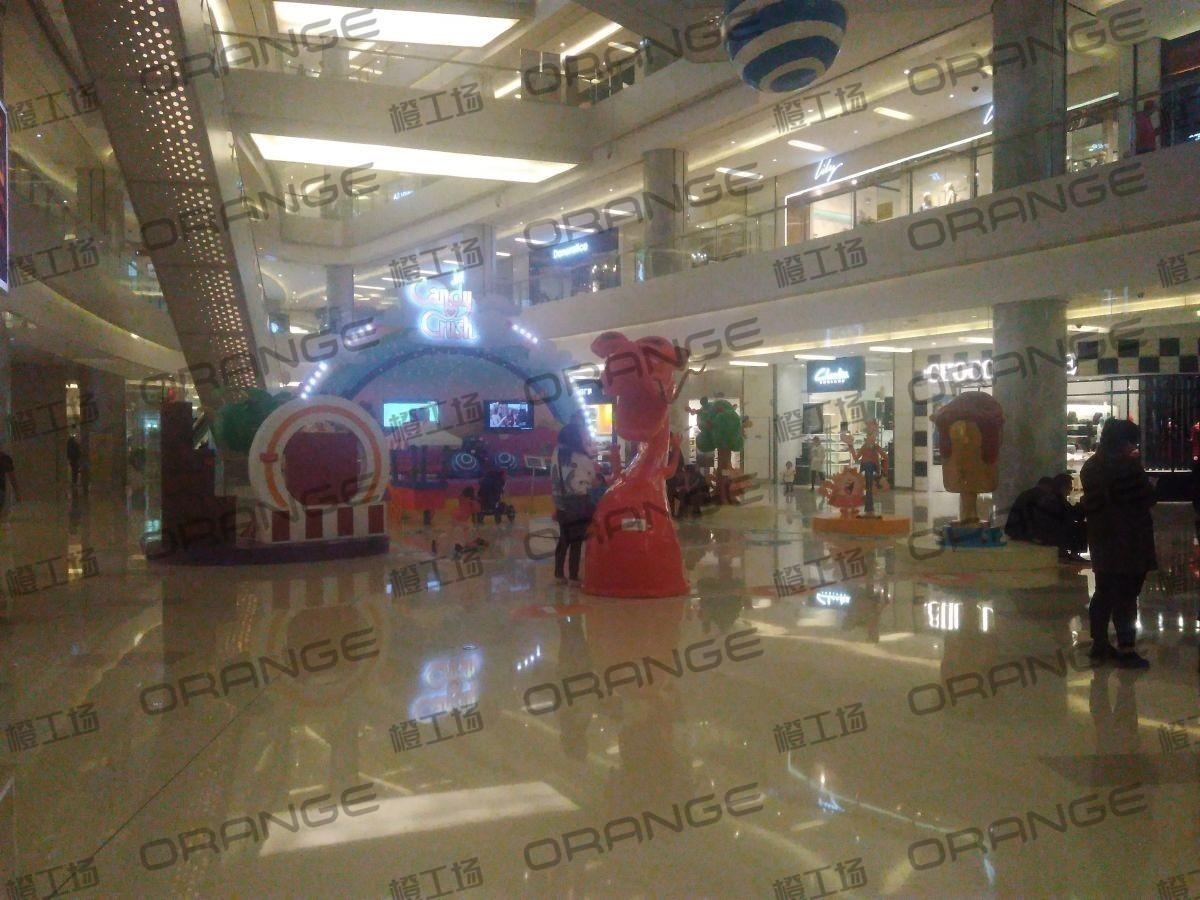 北京五彩城购物中心-室内一楼东区中厅23
