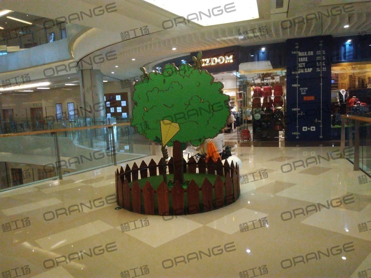 北京五彩城购物中心-室内东区四楼东侧门北过道33