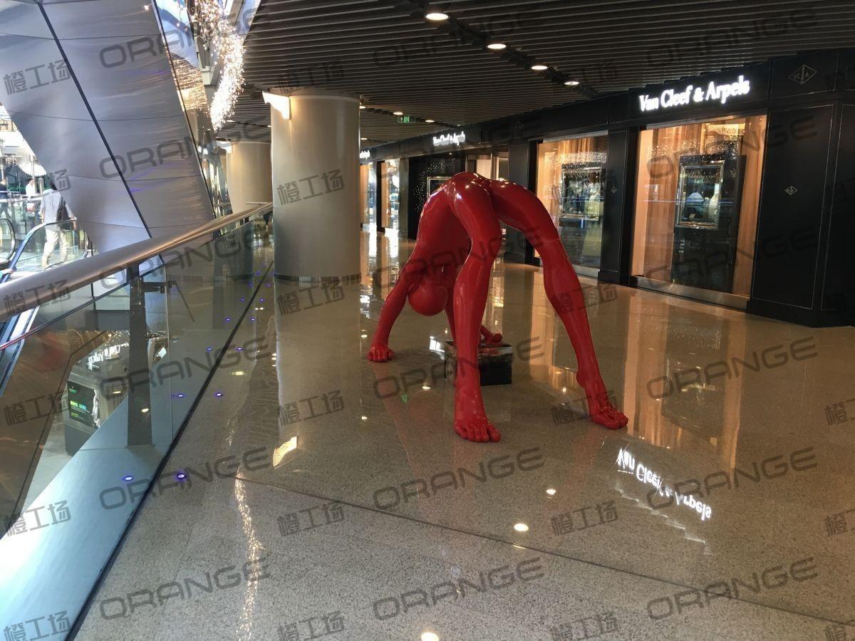 北京侨福芳草地购物中心-室内一楼中庭南侧直梯东17