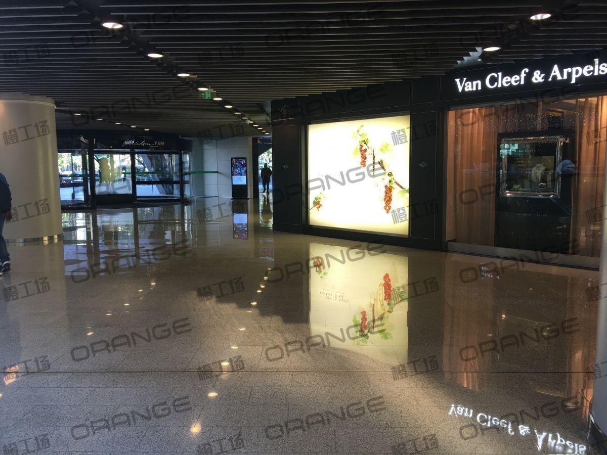 北京侨福芳草地购物中心-室内一楼东门内南侧承重柱间19
