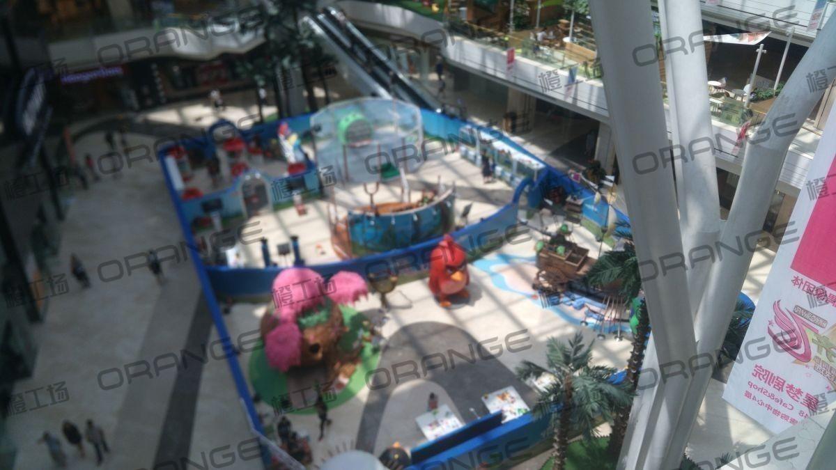 北京悠唐购物中心-室内一楼中庭7