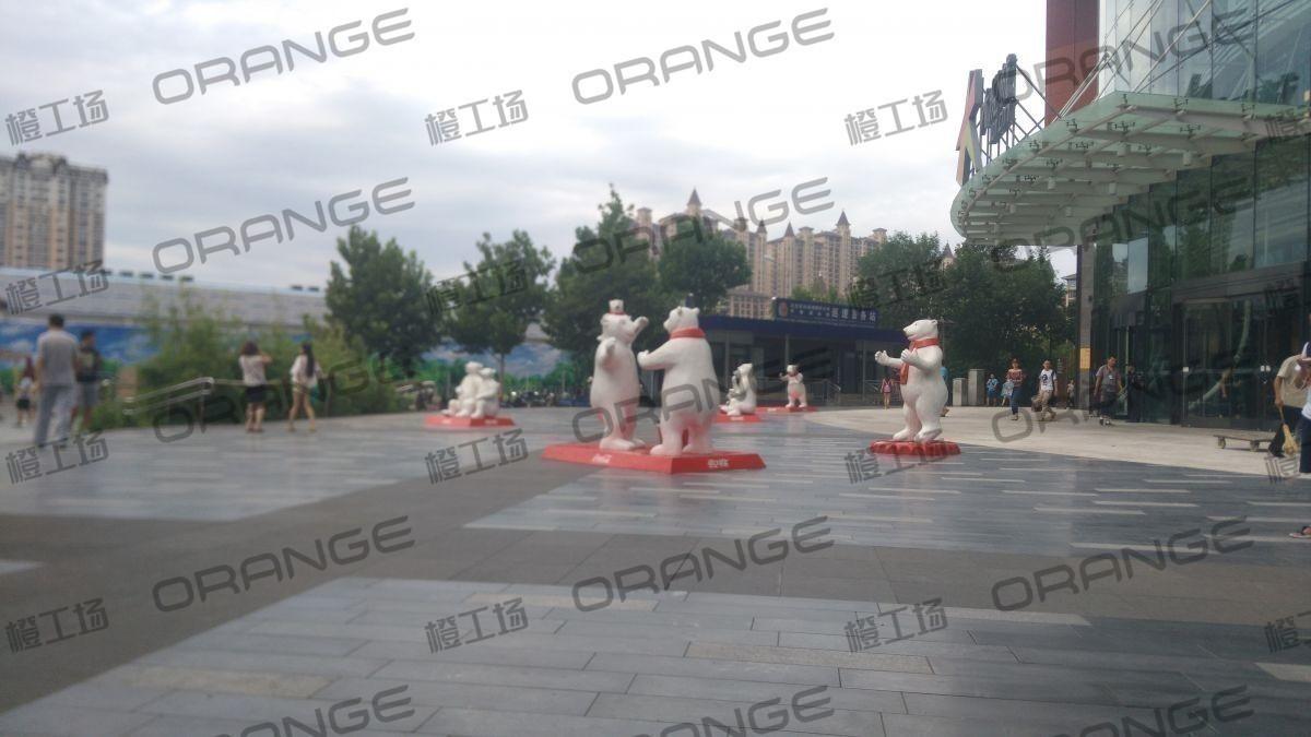 北京朝阳大悦城-室外西北门门前一4