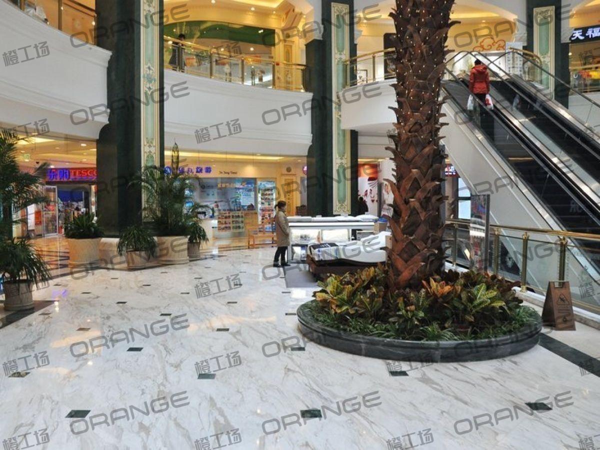 上海环球港-室内B2层北侧中庭扶梯东西两侧(两块)2