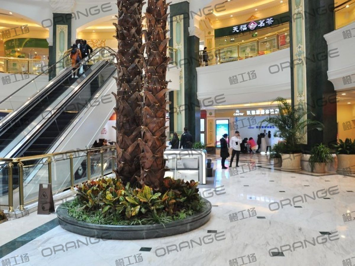 上海环球港-室内B2层北侧中庭扶梯东西两侧(两块)4