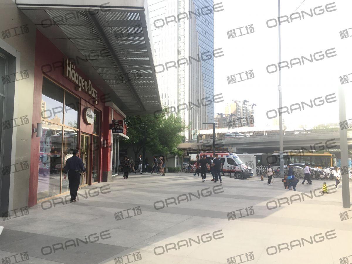 北京富力广场-室外东南角哈根达斯门前一38