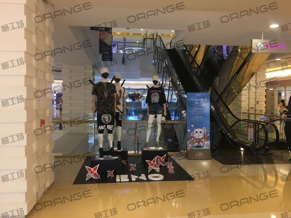 北京悠唐购物中心-室内一期二楼北侧扶梯口南北两侧(两块)9