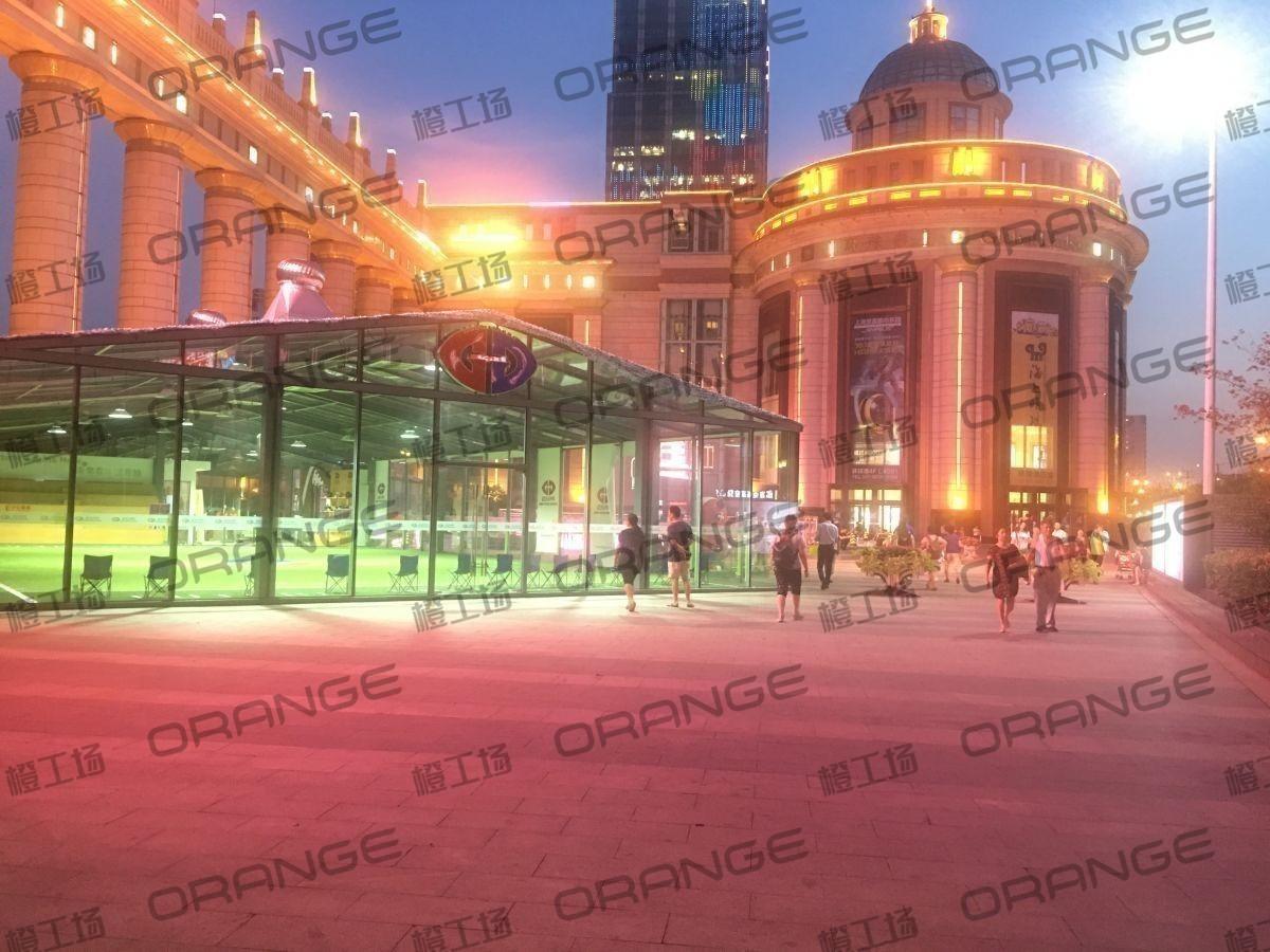 上海环球港-室外北侧喷泉广场北巨石达阵北3