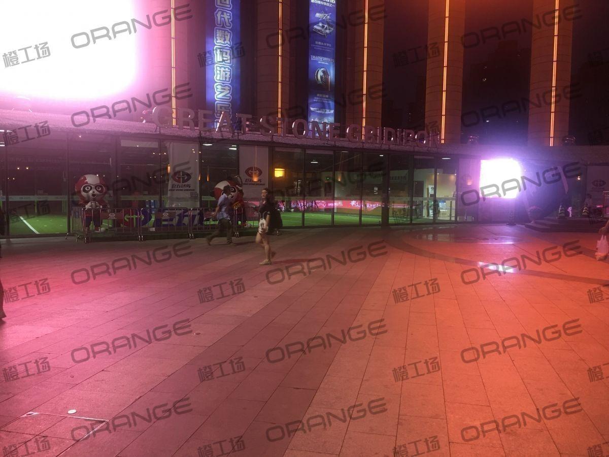 上海环球港-室外北侧喷泉广场北巨石达阵东2