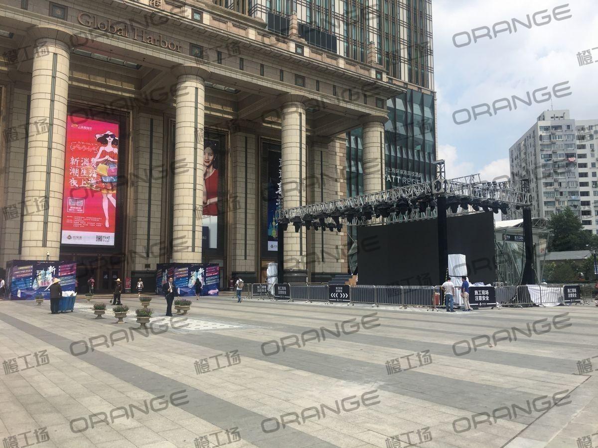 上海环球港-室外南侧广场环廊东1