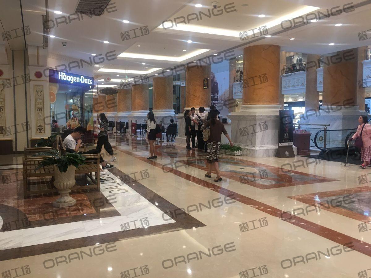 上海环球港-室内一楼中央环廊东南侧3