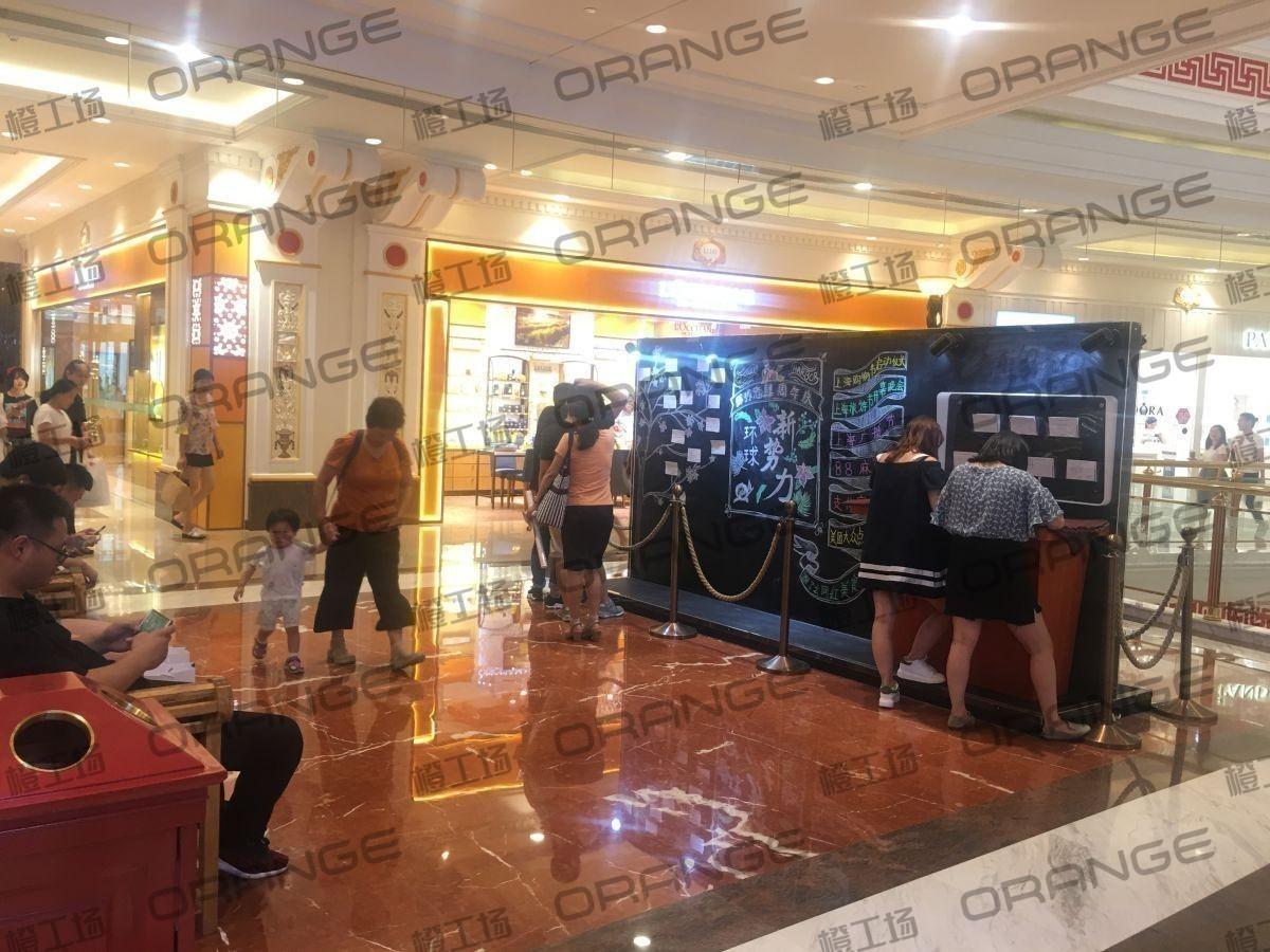 上海环球港-室内一楼画廊东大街142与090之间走廊3