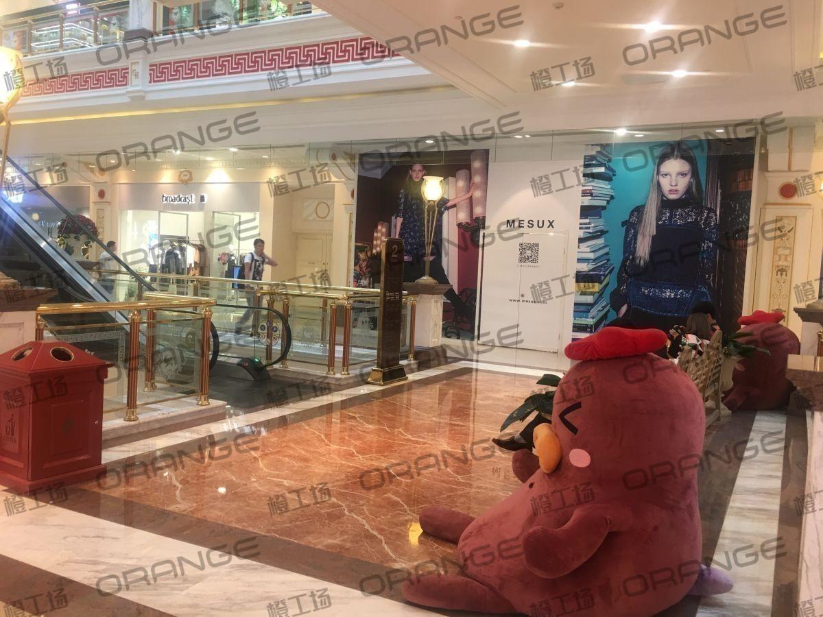上海环球港-室内二楼画廊西大街021前扶梯南1