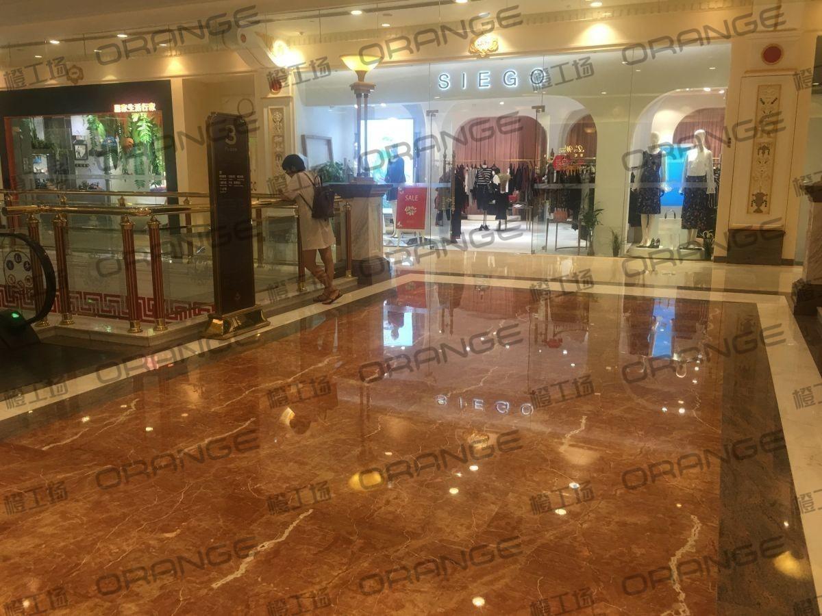 上海环球港-室内三楼画廊西大街086前扶梯南2