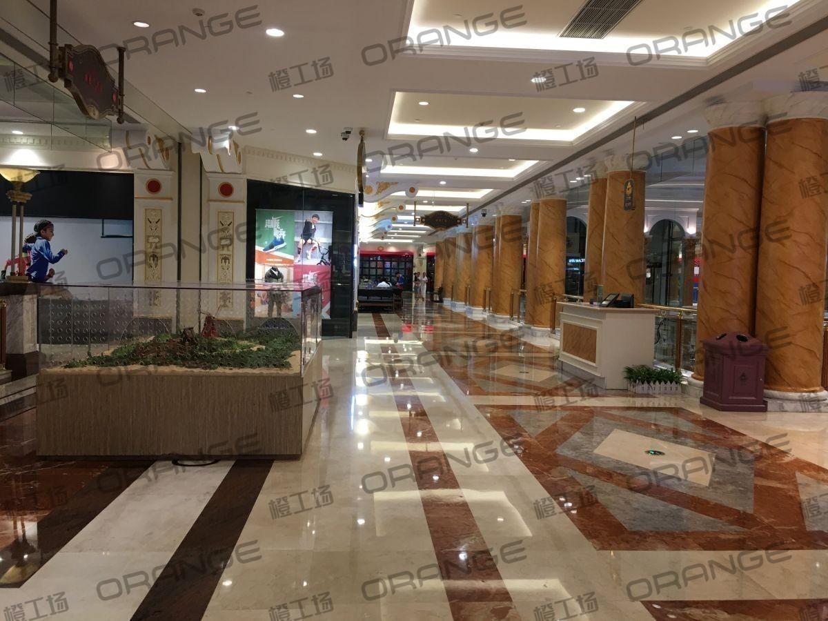 上海环球港-室内三楼中央环廊东南侧1