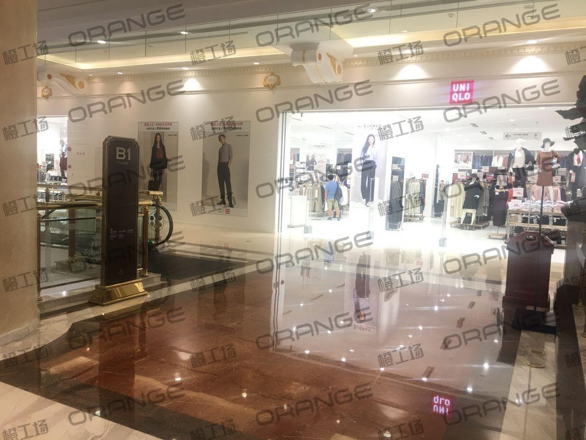 上海环球港-室内B1画廊东大街119前扶梯北1